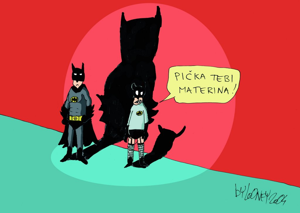 Bivo mrzi Betmena.